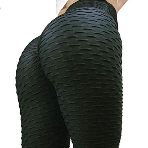 92846c6897ed9f Pants | Black Yoga Leggings Brazilian Booty Lift New | Poshmark